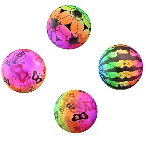 Arulinmz Geschenke für Ihre Babys Kinder-Baby-Spielzeug, Das Fußball pädagogisches Spielzeug-Augen-Trainings-Ball-Beobachtungs-Ball lernt
