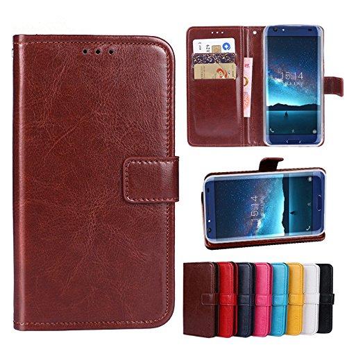 Funda® Flip Brieftasche Hülle für TP-Link Neffos X1 Lite(Muster 8)