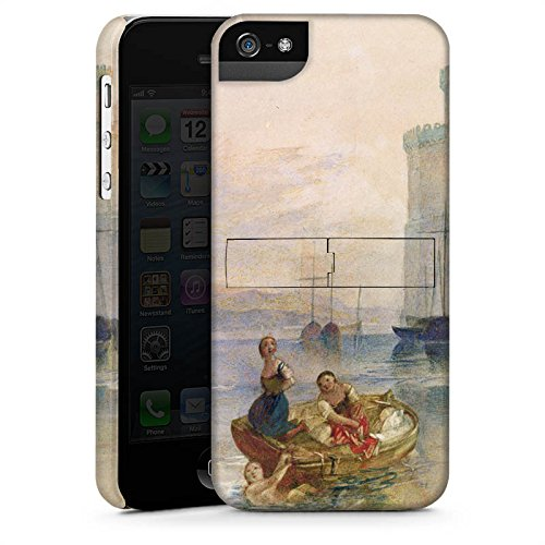 Apple iPhone X Silikon Hülle Case Schutzhülle Carnarvon Castle Wales Kunst Premium Case StandUp