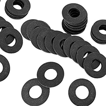 5 x Solid Neoprene Rubber Penny Washer 3 mm Thick-Pick Your Own Size