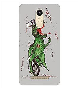 PrintDhaba Funny Image D-5387 Back Case Cover for XIAOMI REDMI NOTE 3 (Multi-Coloured)
