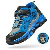 MEAYOU Scarpe da Escursionismo Bambini Scarpe da Trekking Sneaker Sportive Esterne Scarpe da Arrampicata Caldo Invernali Boots Ragazzo Ragazza