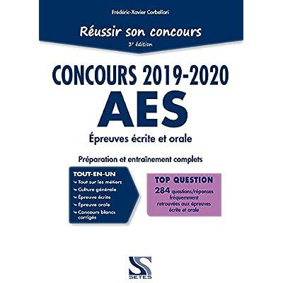 Réussir son concours AES 2019-2020 - Tout-en-un