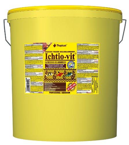 Tropical Ichtio Vit Hauptfutter (Flockenfutter) für alle Zierfische, 1er Pack (1 x 21 l)