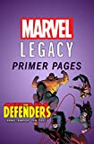 Defenders - Marvel Legacy Primer Pages (Defenders (2017-))