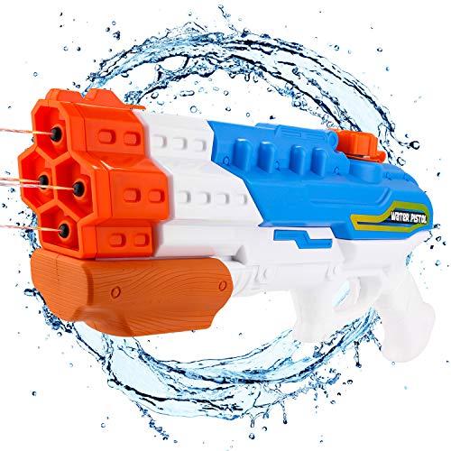 Wasserpistolen Party Kindergeburtstag