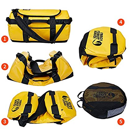 KALIDI-Reisetasche-Transporttasche-Duffle-Bag-Rucksack-wasserfeste-Sporttasche-50L70L100L