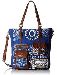 Desigual Damen Handtaschen BOLS BUDAPEST BLACKVILLE 61X51C0 / 5010 neue Kollektion 2016