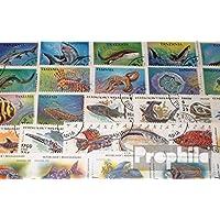 Prophila sellos para coleccionistas: motivos 50 diferentes peces sellos