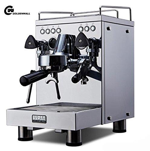 cgoldenwall kd-310kommerziellen Double Pumpe Kaffeemaschine Italian Style Steam Espresso Maker Espresso Coffee, die sich Maschine 15bar Heiße Getränke, Cappuccino & Kaffeemaschine 2600W...