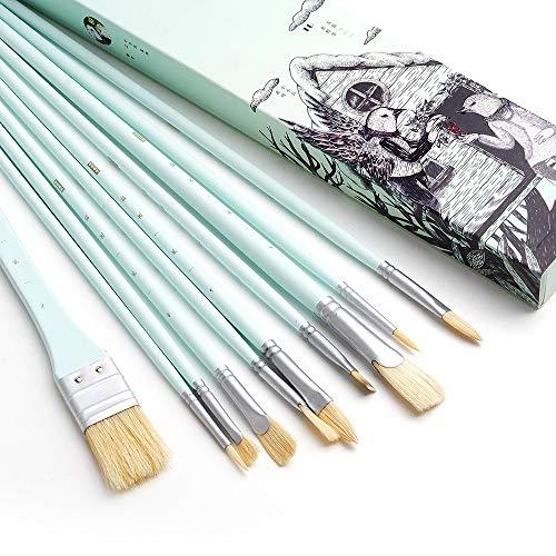 Miya Gouache Malset 18 Farben x 30 ml - Exklusives Jalea mit Gouache in tragbarer Tasche, perfekt für Ölfarben, Acrylfarbe und vieles mehr Grün 10 -