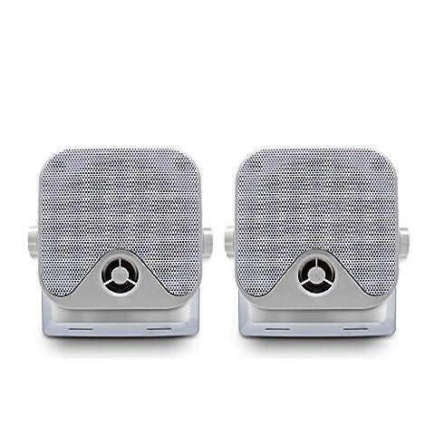 Marine 100 W 10,2 cm Mini haut-parleurs Haut-parleurs système audio stéréo étanche pour moto ATV UTV Orateurs Tracteur Bateau Boîte Orateurs