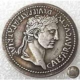 FKaiYin Antike römische Münze - Beste alte Münze - Philosopherkönig - Römisches Imperium Nachbildung - Glücksmünze - Entdecken Sie Geschichte der US-Münzen Zukunft. -