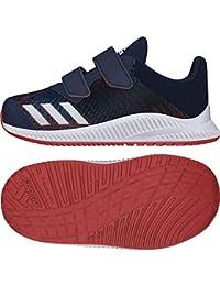 online store a6461 22a33 adidas Fortarun Cloudfoam Scarpe da Ginnastica Basse Unisex-Bimbi 0-24, Blu  Conavy
