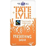 Tate & Lyle Fairtrade Preservar 1kg de azúcar