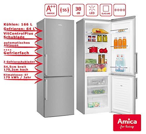 Amica KGC 15488 E Kühlschrank/A++ /Kühlteil166 liters /Gefrierteil64 liters