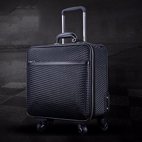 hoom-valise-trolley-en-cuir-roue-universelle-valise-valise-valise-en-cuir-vintageh37l38w20-cmblack