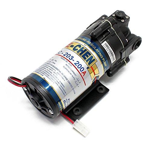 Naturewater Booster Pumpe 200 GPD NW-RO400-E2 E-CHEN 200G Umkehrosmose Anlage (Booster-pumpe Ro)