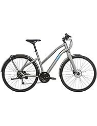Ghost Square Urban 2 Miss - Bicicleta urbana - gris/azul Tamaño del cuadro 52 cm 2017