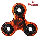 #5: Premsons Fidget Tri-Spinner Printed 608 One Bearing Ultra Speed Hand Spin Toy - Natural Camouflage
