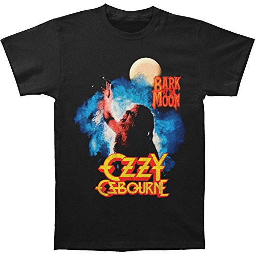 Rockoff Trade Herren T-Shirt Bark At the Moon Schwarz