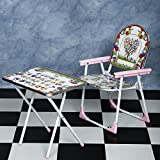 #7: NHR Multipurpose Folding Baby and Kids Table Chair Set (Pink)