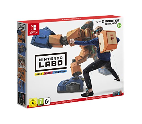 Switch Nintendo Labo: Toy-Con 02 - Kit de robot