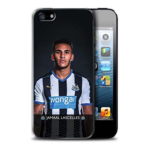 Officiel Newcastle United FC Coque / Etui pour Apple iPhone 5/5S / Pack 25pcs Design / NUFC Joueur Football 15/16 Collection Lascelles