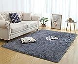 Tappeti per interni ultra morbidi, tappeti morbidi per soggiorno Tappeti per bambini adatti per la camera da letto Decorazioni per la casa Tappeti per camera da letto Dimensioni: 60x160 cm (grigio)