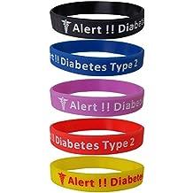 eabb8eb9a103 Amazon.es  diabetes pulsera