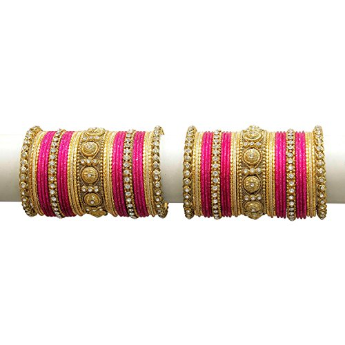MUCH MORE Edition Of 58 Bangles With Kada for Women Wedding Wear Jewelry