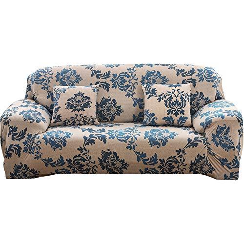PengXiang Slipcovers, Stollen für Möbel, Displayschutzfolie, elastisch, rutschfest Schaum, 1Stück Couch-Shield, Polyester, Spandex-Stoff, Polyester-Mischgewebe, Pattern-a, Sofa74-90