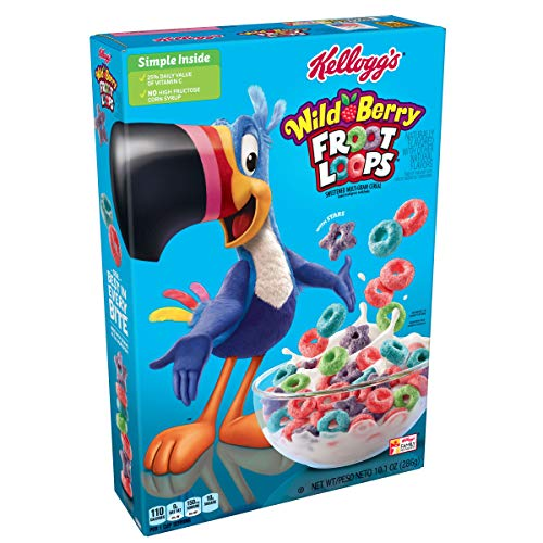 Kellogg's Froot Loops Wild Berry Flavour, 283g