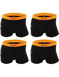 4er Pack Herren Retroshorts Boxershorts mehrfarbig M L XL oder XXL