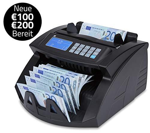 ZZap NC20 Banknotenzähler - Geldzählmaschine Geldzähler Banknotenzählmaschine