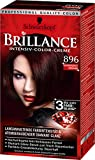 Brillance Intensiv-Color-Creme 896 Schwarzrot Organdi, 3er Pack (3 x 143 ml)