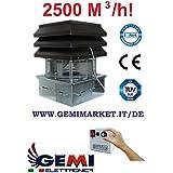 Aspirateur Extracteur Ventilateur d'aspiration électrique de fumée pour cheminèe modèle base