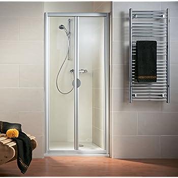 porte paroi de douche en plastique pvc mod vergine 90 cm avec ouverture lat r. Black Bedroom Furniture Sets. Home Design Ideas