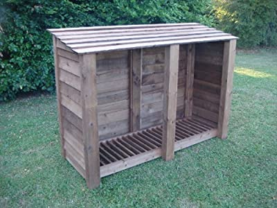 Buy a Double 4ft Log Store. from Log Burning Essentials