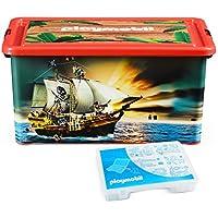 Preisvergleich für PLAYMOBIL 064661 - Aufbewahrungsbox XL Piraten