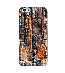 Omnam Wall Made Of Stone Printed Designer Back Cover Case For Apple iPhone 6
