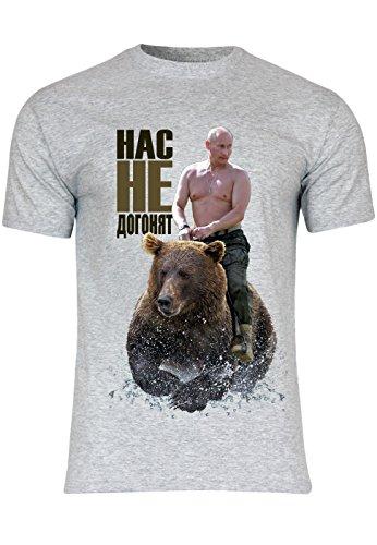 METRA -  T-shirt - Maniche corte  - Uomo grigio Medium