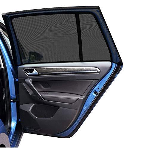 ITEYAO Tendine Parasole Auto Bambini Finestrino Laterale, Universali Parasole Auto for Protezione Bambini, Raggi solari UV, Insetti, Privacy, 2 Pezzi