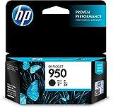 HP 950 Schwarz Original Druckerpatrone für HP Officejet Pro 276dw, 8600, 8610, 8620, 251dw, 8100