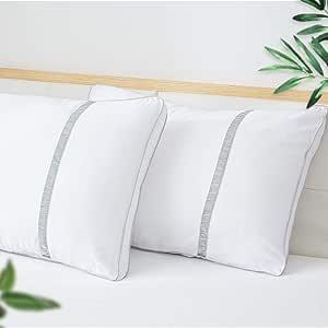 Sofslee 2 Pack Pillows, Sleeping
