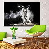HD Druck Leinwand Bilder Rahmen Wandkunst Übung Langhantel Malerei Bild Für Wohnzimmer Dekor Poster