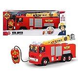 Simba XXL Jupiter Hero | Feuerwehrmann Sam | Feuerwehrauto mit Wasserspritzfunktion