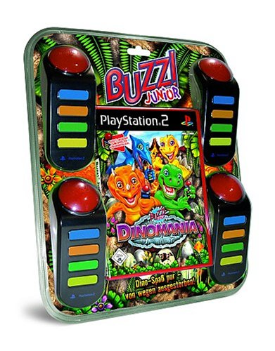 BUZZ! Junior: Dinomania inkl. Buzzer