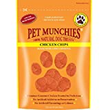 Pet Munchies 100% Natural Huhn Chips 100g Hunde-Leckerli