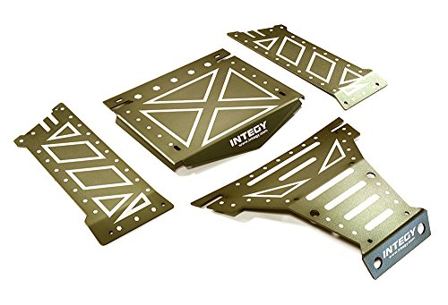 Integy RC Model Hop-ups C27661GUN Aluminum Alloy Body Panel Kit for Axial 1/10 Yeti Rock Racer Buggy - Yeti Rc-kit